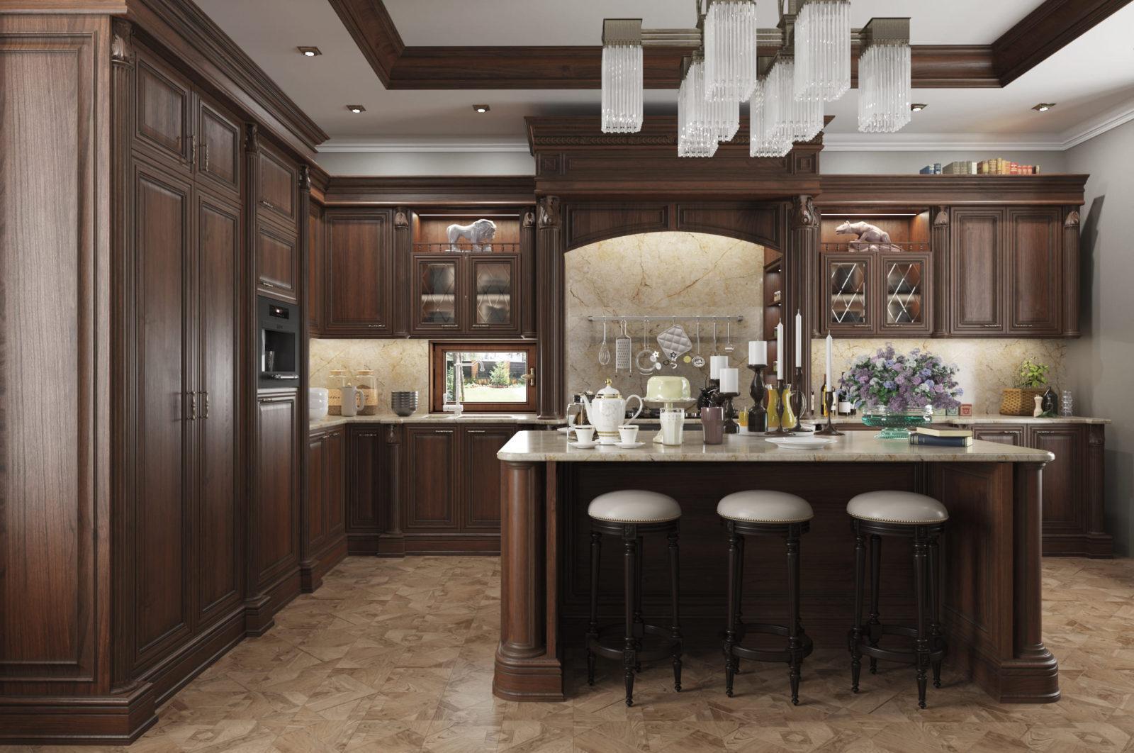 Дизайнерская кухня Da Vinci
