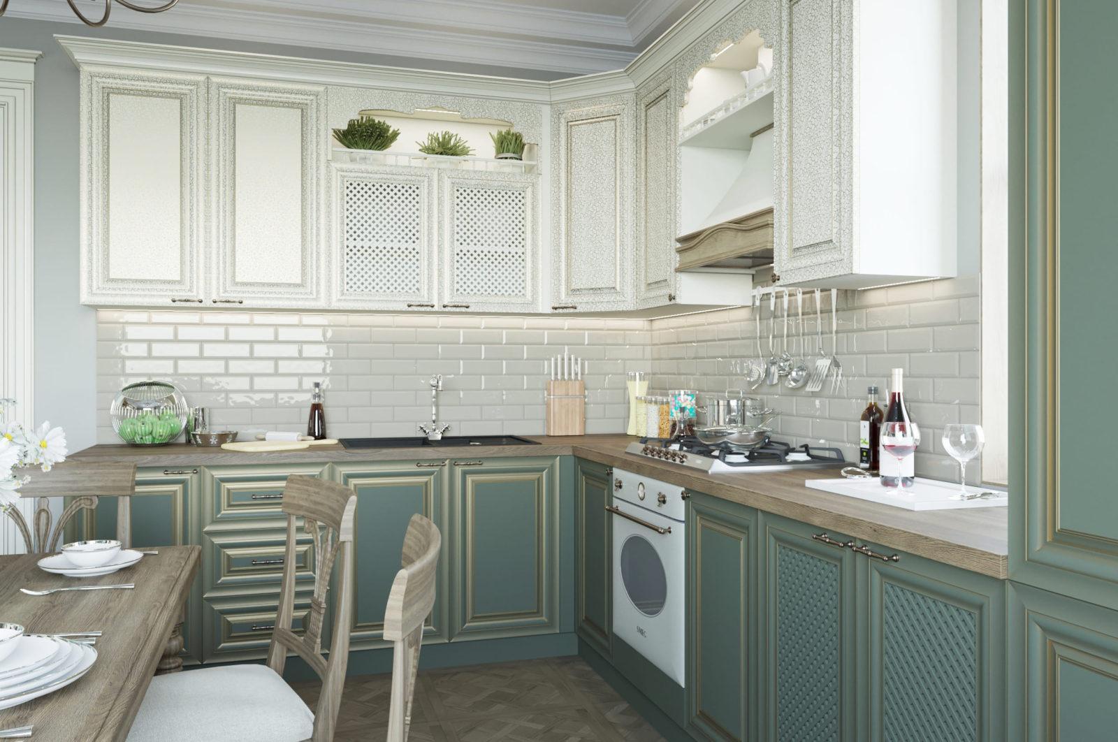 Дизайнерская кухня Michelangelo