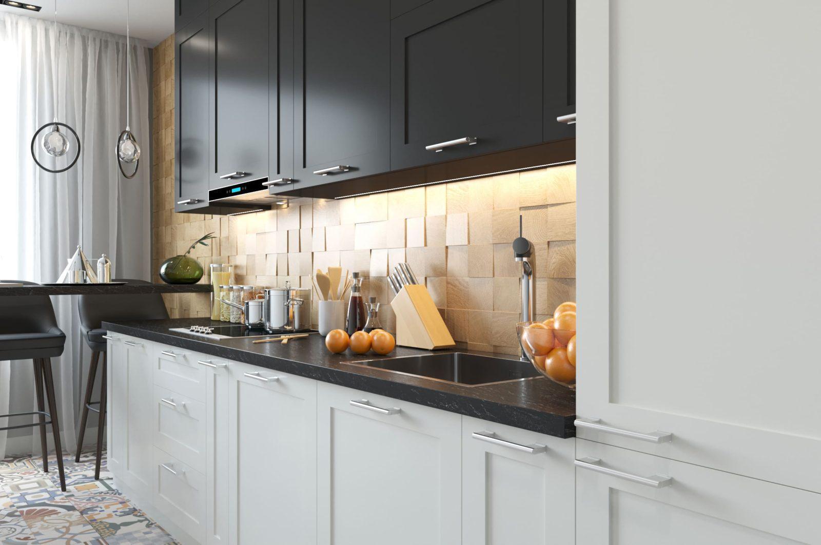 Дизайнерская кухня Quadro