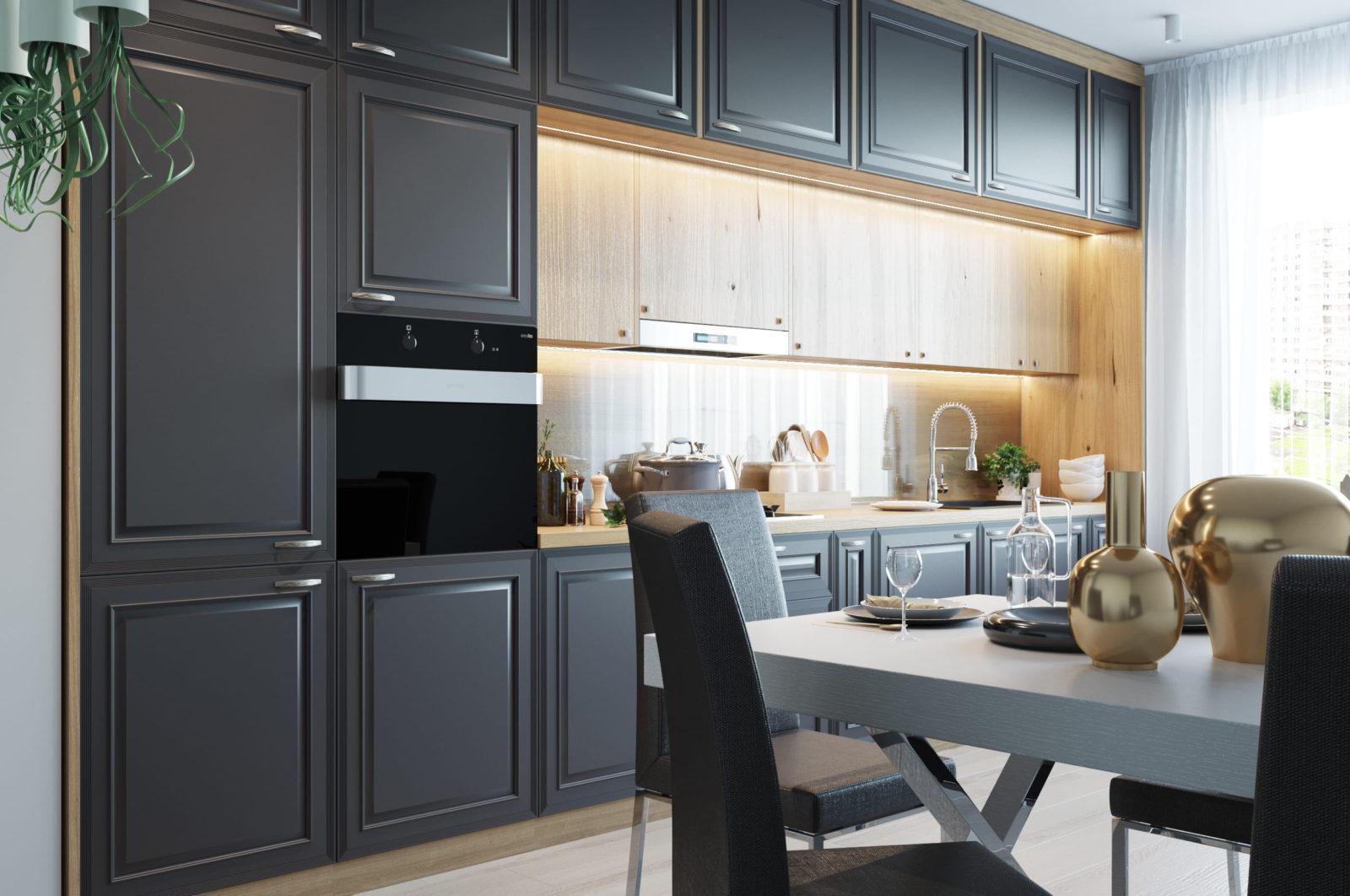 Дизайнерская кухня Raffaello